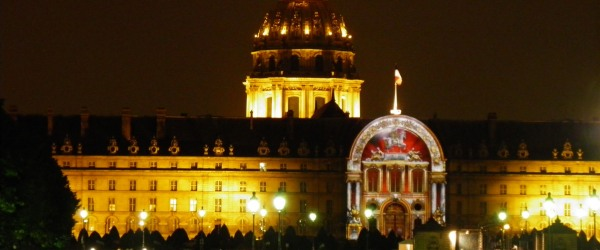 The Night at the Invalides ... Once upon a time in Paris and France
